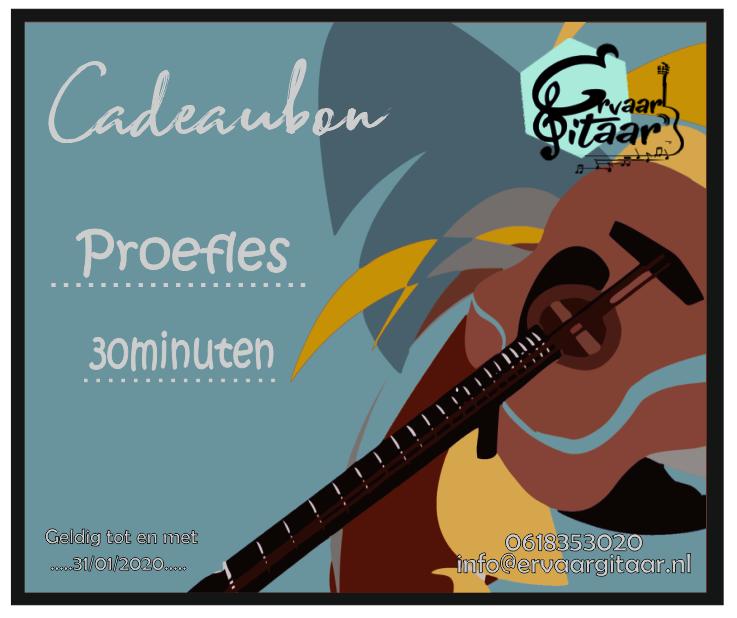 Cadeaubon proefles